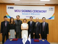 ECES & A-WEB MoU Signing Cerimony
