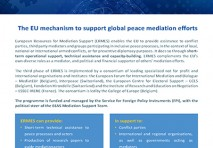 ERMES - EUROPEAN RESOURCES FOR MEDIATION SUPPORT