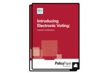 Introducing Electronic Voting: Essential Considerations, 2011 (ENG)