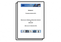 Manual for SADC-ESN election observation mission in Madagascar, 2013 (FR)