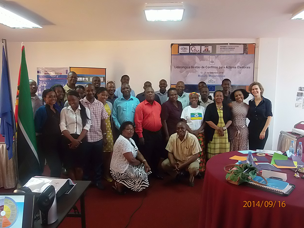 PEV-SADC | LEAD Training | Mozambique 15-19 Sept 2014