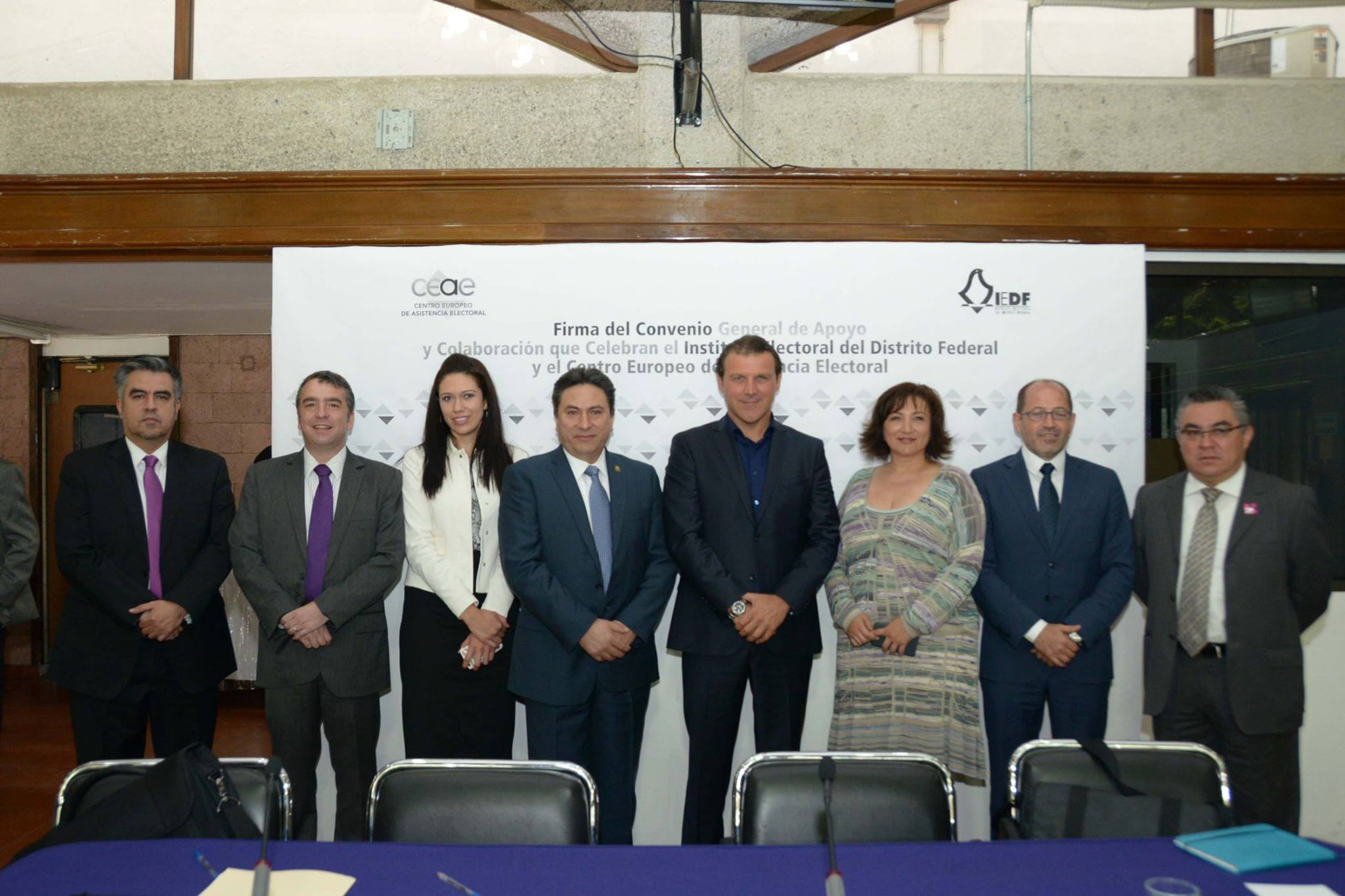 IEDF and ECES signature of Agreement I Mexico I August 2015