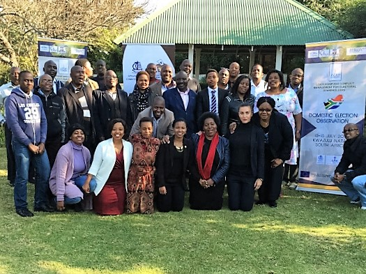PEV-SADC LEAD Training on National Election Observation