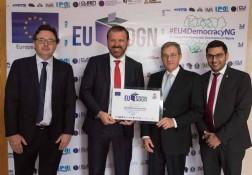 Lancio di EU-SDGN - 01.02.2018