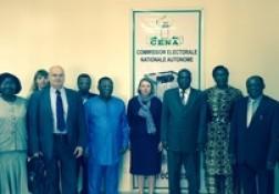 Signature du projet Benin