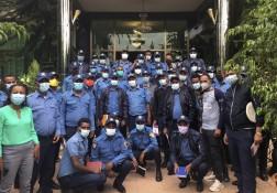 Formazioni della Polizia in Etiopia!