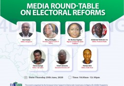 Media roundtable on Electoral Reforms - 25.06.2020