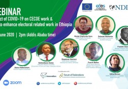 Webinar: impact of COVID on CSOs & Elections - 29.06.20