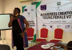 Young women voters awareness session - 13.08.20