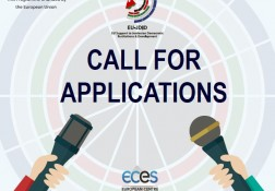Call for Applications - Evaluation of Jordan project