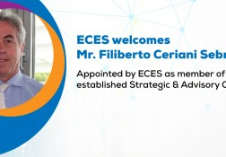 ECES dà il Benvenuto a Filiberto Sebregondi