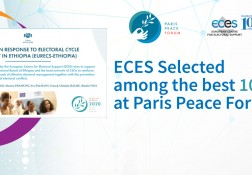 ECES selected among best projects at Paris Peace Forum