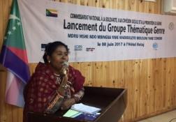 Group on Gender Comoros - 8.06.2017