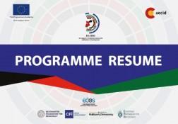 Brochure del programma EU-JDID