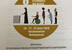 6th Int'l Seminar of Exchanges of RECEF - 21.03.2018