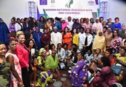 Dialogue National des Femmes avec la Présidente de la CENI