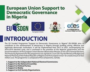 Brochure del progetto EU-SDGN