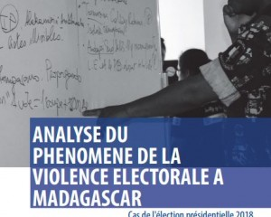Study on election related violence based on data of early warning and rapid response system
