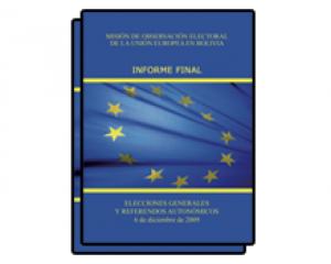 EU EOM Bolivie 2009