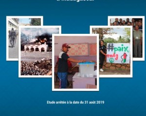 Study on managing election related violence in Madagascar
