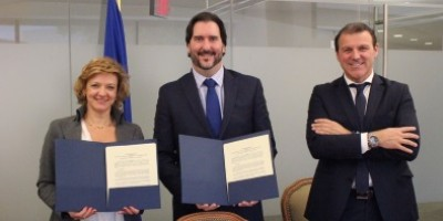 MOU ECES-OAS signing ceremony ( Washington, USA 10/11/2016)