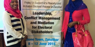 LEAD Training I Stone Town, Zanzibar I 8-12 June 2015