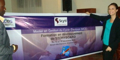 Training in Electoral Cycle Management DRC - 12-18 December 2013