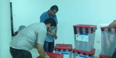 Support to the Zawiya Elections, Provision of electoral material - SUDEL Project - 17 July 2012